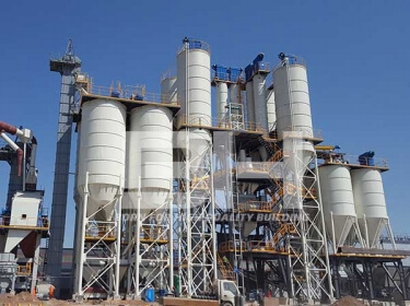 Annual output of 500,000 tons dry mortar production line
