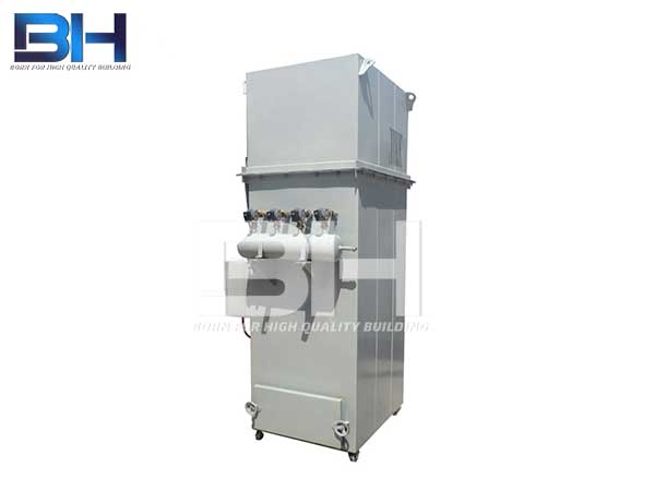 Small pulse dust collector