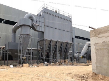 BH pulse dust collector equipment installation case