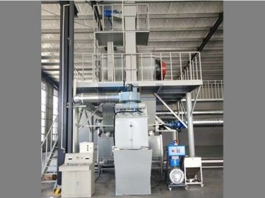 5-8TPH Semi Automatic Dry Mix Plant
